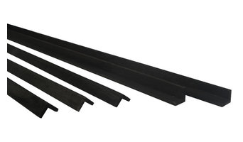 Sustainable Wood Trim, Black