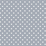 Finesse Deco Partners - Lola Lollipop Rock PVC Tablecloth, 140x250 cm - The non-woven, easy-to-use oilcloths in the Lola collection offer tables a fresh image. This 140-by-250-centimetre tablecloth features a grey and white polka dot design for a touch of Shabby Chic. Phthalate-free, it can be wiped down after use. Finesse is an experienced manufacturer and wholesaler dedicated to washable table linen, amongst other household goods.