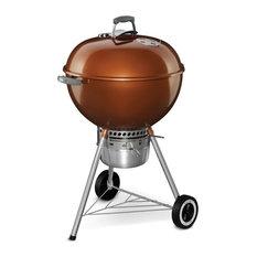 "Charcoal Grill-Original Kettle Premium, 22"", Copper"