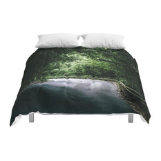 Society6 Driving The Hana Highway Comforter, Full, 79x79