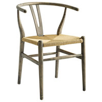 Beechwood Dining Side Chair, Weathered Gray
