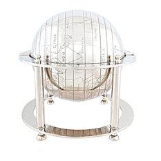 Aluminium Globe Hancrafted Globes & Globe Bars