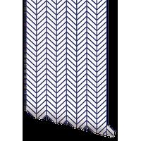 "Herringbone Line Wallpaper Sheet, Peel and Stick, Navy, 24""x108"""