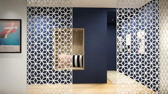 Portes coulissantes décoratives