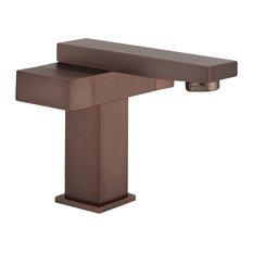 Legion Furniture Single Faucet, Brown Bronze