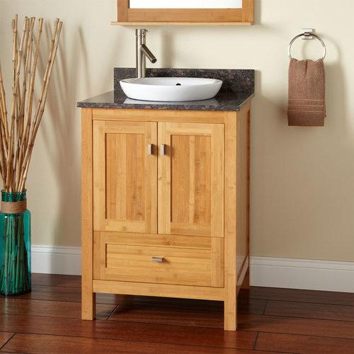 Semi-Recessed Sink Vanities