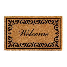 """Breaux Welcome Doormat, 24""""x36"""""""