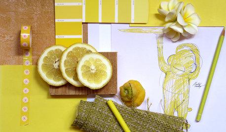 Colore del Mese: Giallo Limone