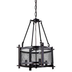 Cool Industrial Chandeliers by Edvivi Lighting