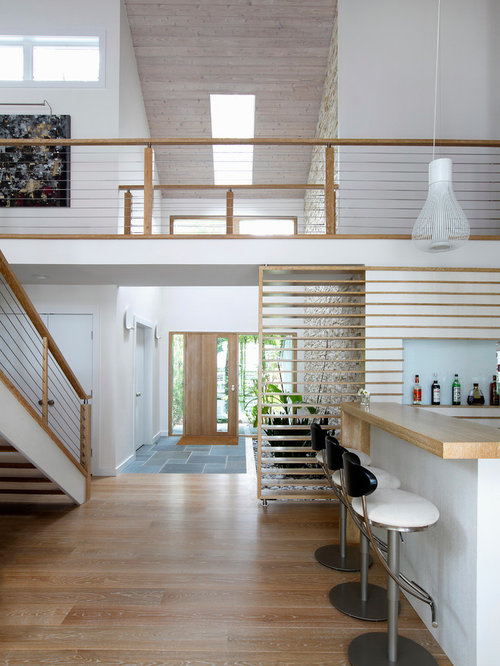 Houzz Two Story Foyer : Contemporary foyer houzz
