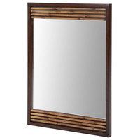 """Bambu Mirror 26"""", Dark Bamboo"""