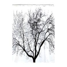 Rideau de douche - Rideau de douche arbre ...