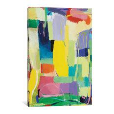 """Urban Essay XV"" by Kim Parker, 26""x18""x1.5"""