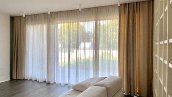 Tendaggi per villa privata