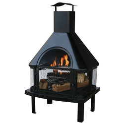 Traditional Outdoor Fireplaces by Mr. Bar-B-Q Products