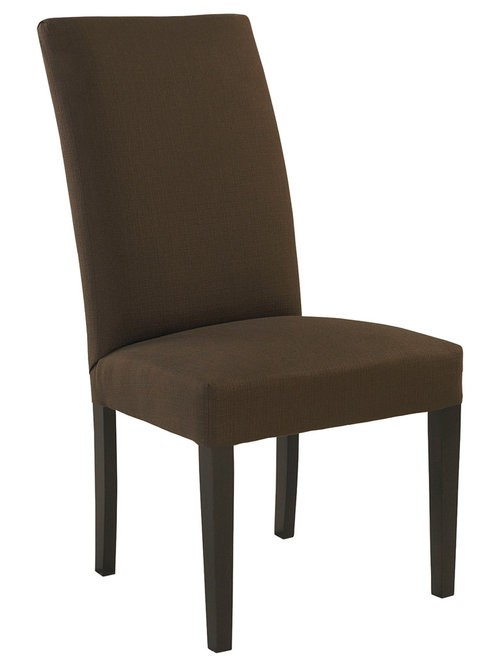Custom Upholstered Side Dining Chair By Bassett Furniture   Dining Chairs