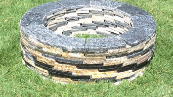 Recycled Granite Fire Pits