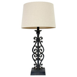 Mediterranean Table Lamps by Decor Therapy