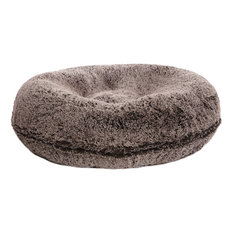 Bessie and Barnie - Bessie and Barnie Bagel Bed For Pets, Frosted Willow, Extra Large - Dog Beds