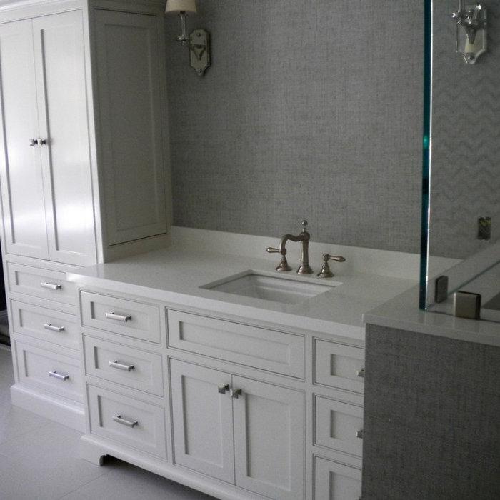 Closet Cabinets & Master Bath in San Marino