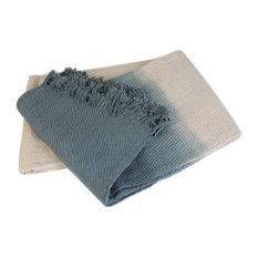 Ombre Cotton Khadi Throw