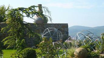 giardino privato sulle colline del Chianti