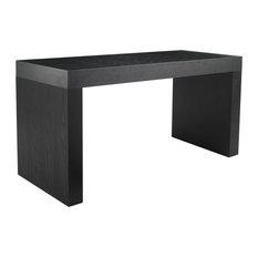 Faro C, Shape Counter Table, Black