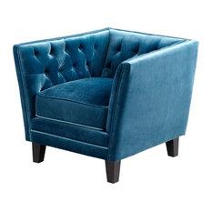 Chair CYAN DESIGN PRINCE VALIANT Blue Foam