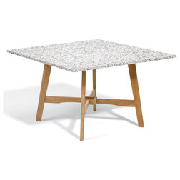 Transitional Outdoor Dining Tables by Oxford Garden