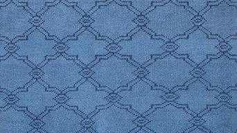 Rugsville Moroccan Trellis Beni Ourain Turquoise Blue Rug