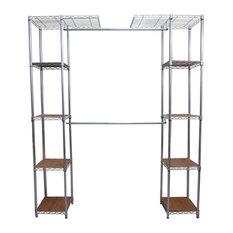 Superbe TRINITY   Trinity EcoStorage Expandable Closet Organizer, Chrome   Closet  Organizers