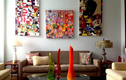My Houzz: Artfully Arranged Manhattan Studio