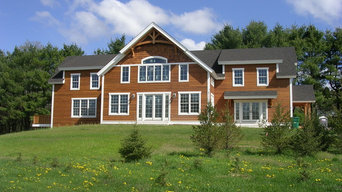 Newport design Timber Frame, Stow, MA