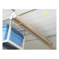 Garage Ceiling Storage - hanger hooks by Garageflex