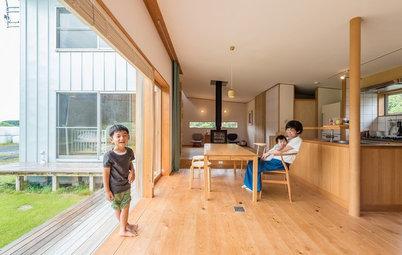 緑の中で静かな暮らしを。富士山麓にある酪農家が暮らす家