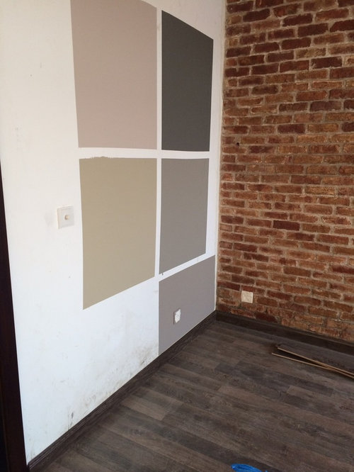 Wall Color Next To Brick