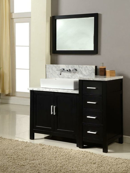 bathroom vanities with wall mount faucets. Black Bedroom Furniture Sets. Home Design Ideas