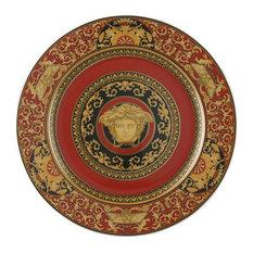 Versace Medusa Red Service Plate