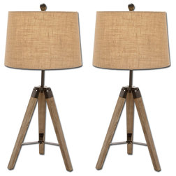 Contemporary Table Lamps by Urban Designs, Casa Cortes