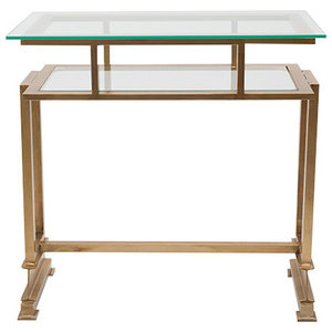 Nibia 2-Tier Console Table