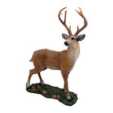 Hunters Dream Big Buck Decorative Deer Statue
