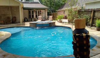 Best swimming pool builders in houston houzz - Swimming pool builders houston tx ...