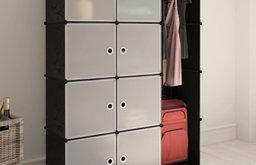vidaXL Modular Cabinet with 9 Compartments Rack Shelves Storage Organizer