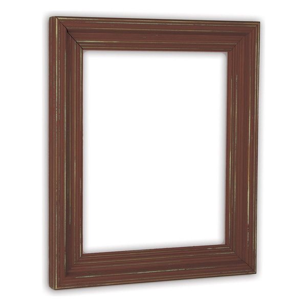 Cimarron Rust Picture Frame, Solid Wood, 11