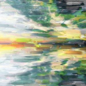 """""""Colour Explosion"""" Canvas Print by Parvez Taj, 100x100 cm"""