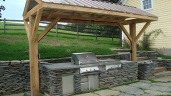 Outdoor Kitchen, Cambridge, New York