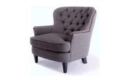 Watson Royal Vintage Design Upholstered Armchair