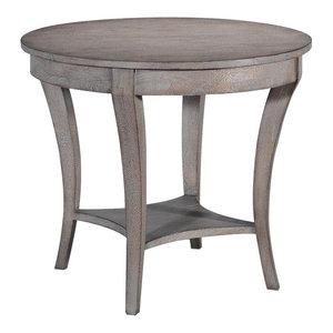 Side Table BALLARD Tapered Legs Leg Greige