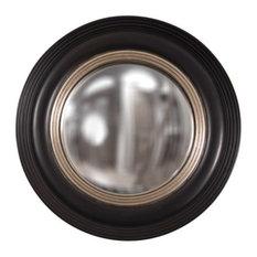 Soho Round Black Matte Round With Silver Mirror