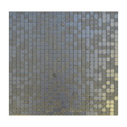 "11.38""x11.38"" Peel and Stick Backsplash Tile, ""Silver Spoon"", Single Tile"